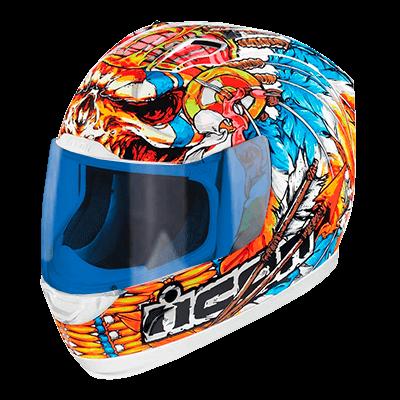 Icon helmet wild colors