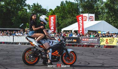 покатать девушку на мотоцикле