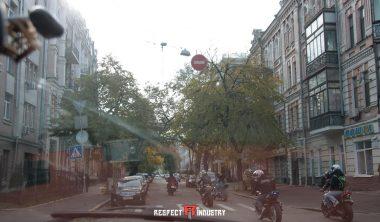 райдеры на улицах киева